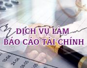 Dịch vụ báo cáo tài chính cuối năm tại Hà Tĩnh