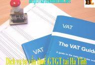 Dịch vụ tư vấn thuế GTGT tại Hà Tĩnh