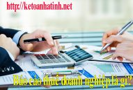 Báo cáo thuế doanh nghiệp là gì?