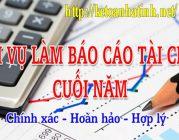 Dịch vụ báo cáo tài chính giá rẻ tại Hà Tĩnh