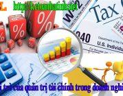 Vai trò của quản trị tài chính trong doanh nghiệp