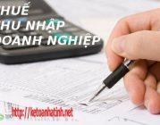 Kiến thức cơ bản về thuế thu nhập doanh nghiệp